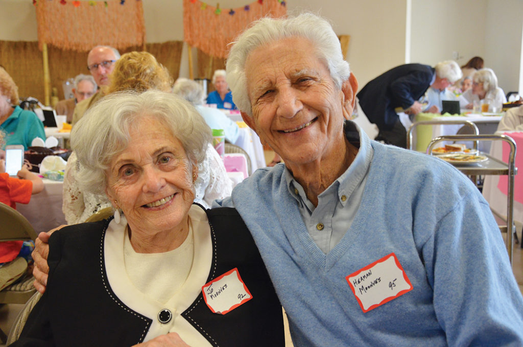Josephine and Herman Moonves have been married 70-plus years.