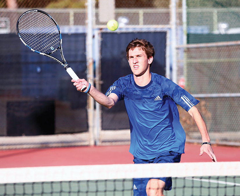 PaliHi tennis captain Ben Goldberg. Photo: PaliHi Photography