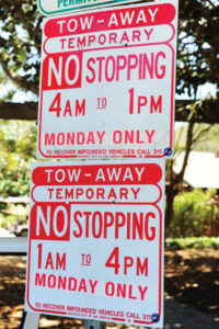 Double posting of City signs cost Will Rogers race organizers extra money.
