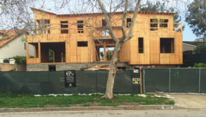 City building laws have been questioned regarding construction at 16815 Bollinger.