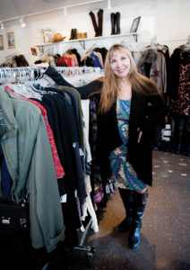 Vivan Foster is owner of Vivian's Boutique. Photo: Lesly Hall
