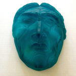 Sculpted mask by Rosanne Mangio