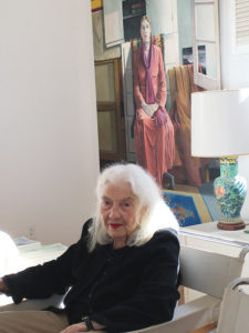 thel Fisher's living room in Pacific Palisades is filled with her art and treasures from around the world. Photo: Libby Motika