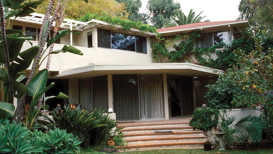 Thomas Mann's home on San Remo Drive was purchased by the German government.