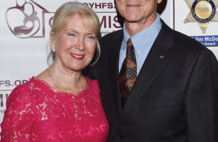 Billy and Kathleen Snyder attended the Optimist Mentor Awards Gala in October.